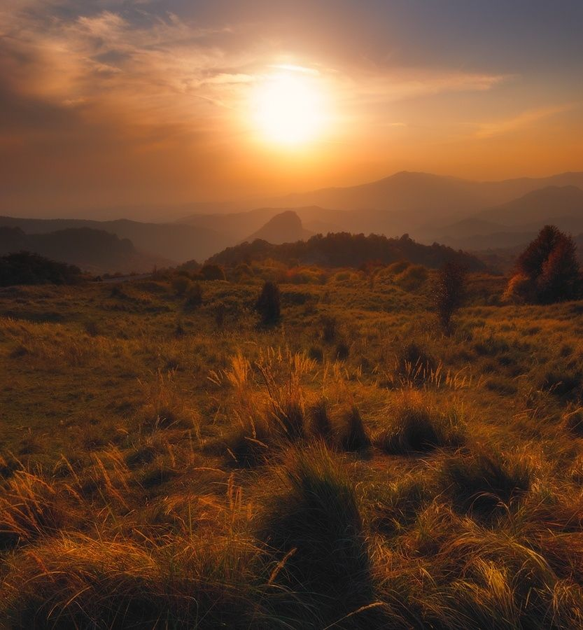 Gombori Sunset - Georgia, Caucasus )