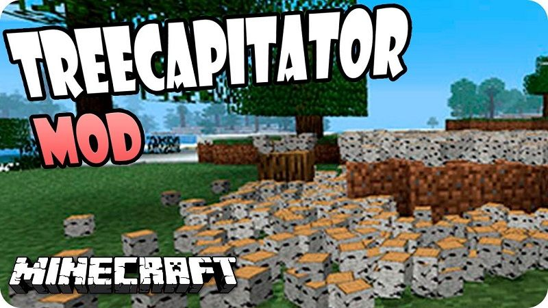 Treecapitator Mod 1 12 1 11 2 For Minecraft Allows Players To Down