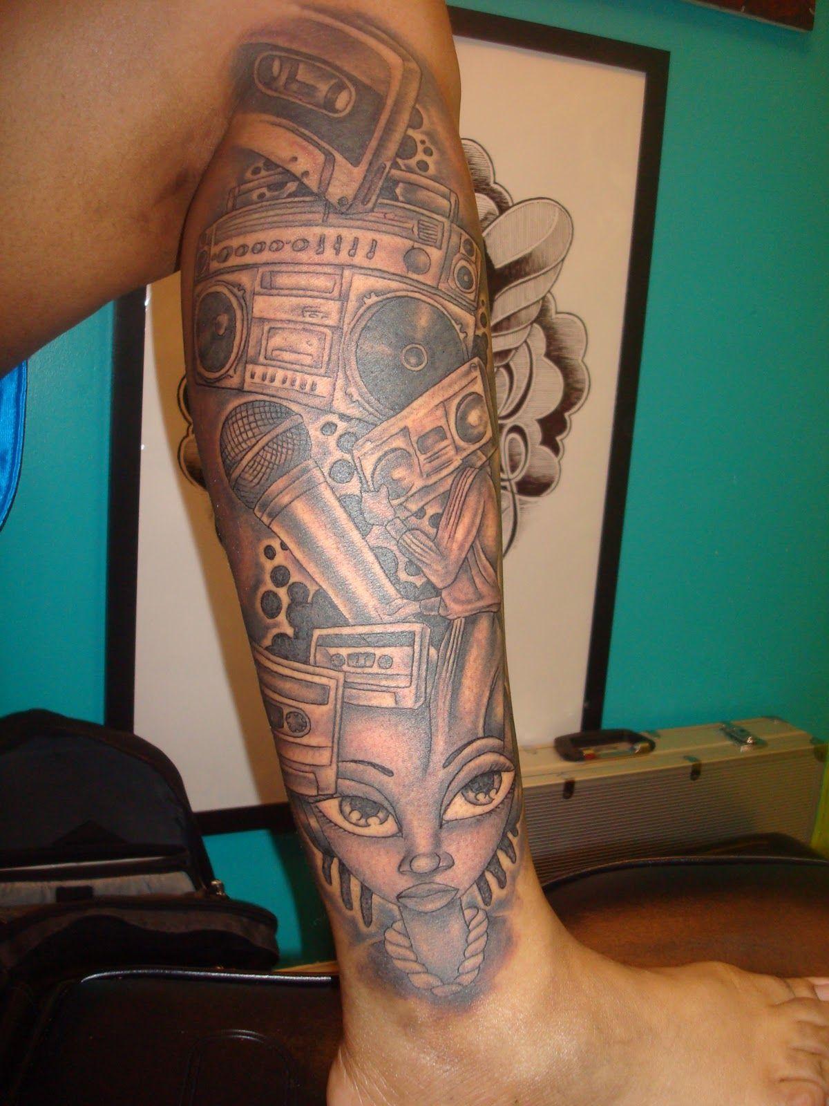 "City of Ink's ""Miya Bailey"": TATTOOS"