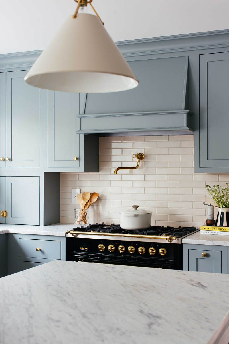 Colonial Kitchen Transformation with Inset Cabinetry