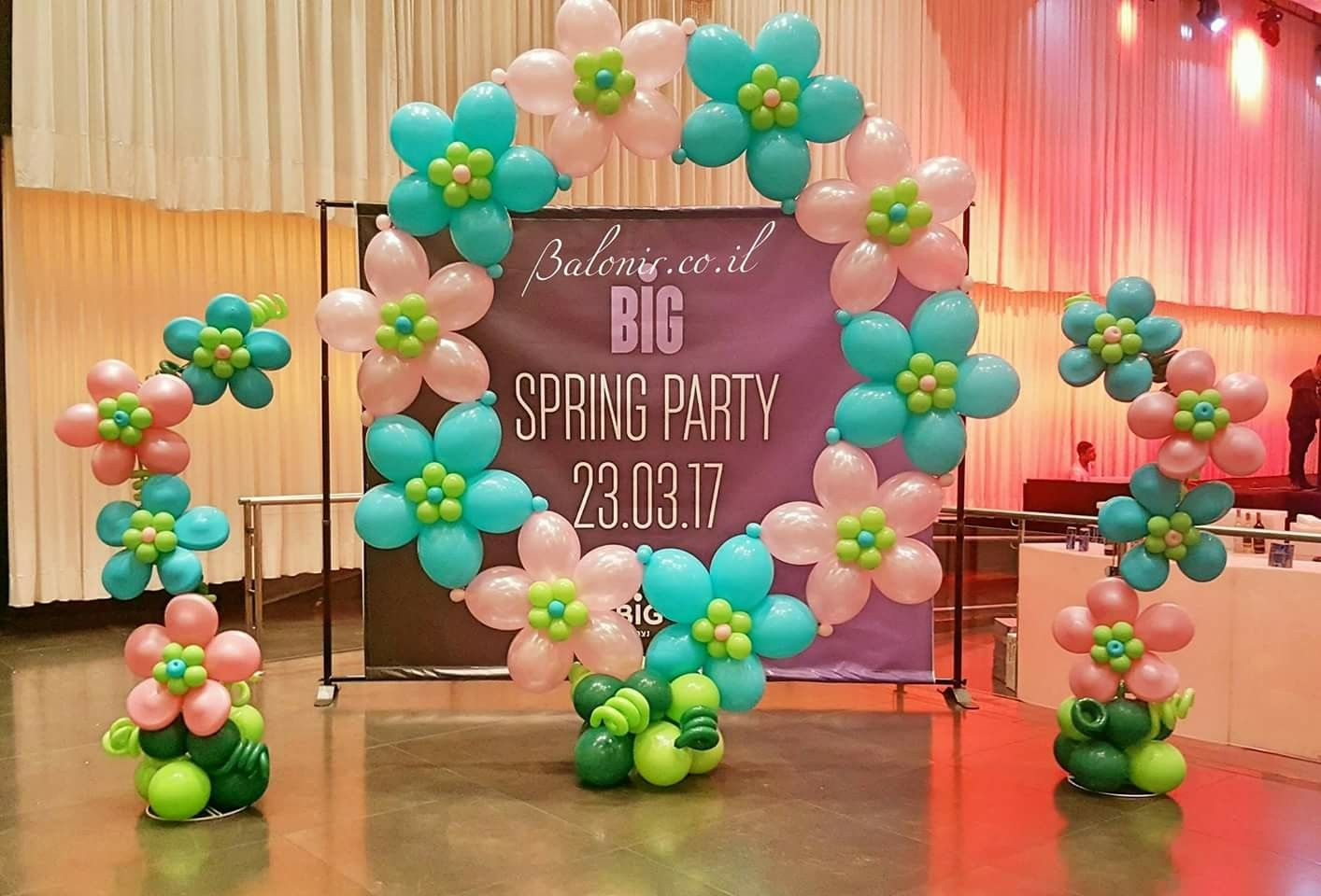 Decoration De Ballon Spring Decoration Balloon Flowers Balloondecoration