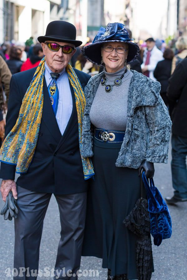More fun and more outfits from the New York Easter Parade! | 40plusstyle.com