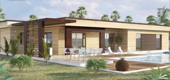 Toit terrasse maison concept plain pied 10 projet maisons maison moderne toit plat maison for Maison toit terrasse prix