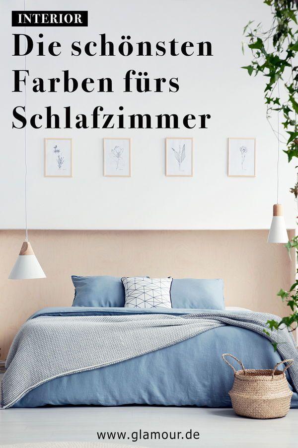 schlafzimmerfarben wirkung tipps ideen bilder