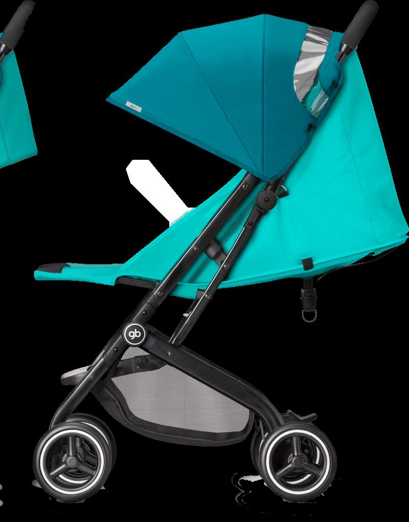 GB Qbit Plus Stroller Posh Pink Stroller