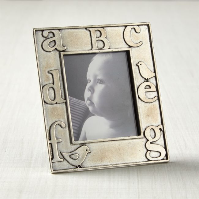 ABC Picture Frame | Crate and Barrel