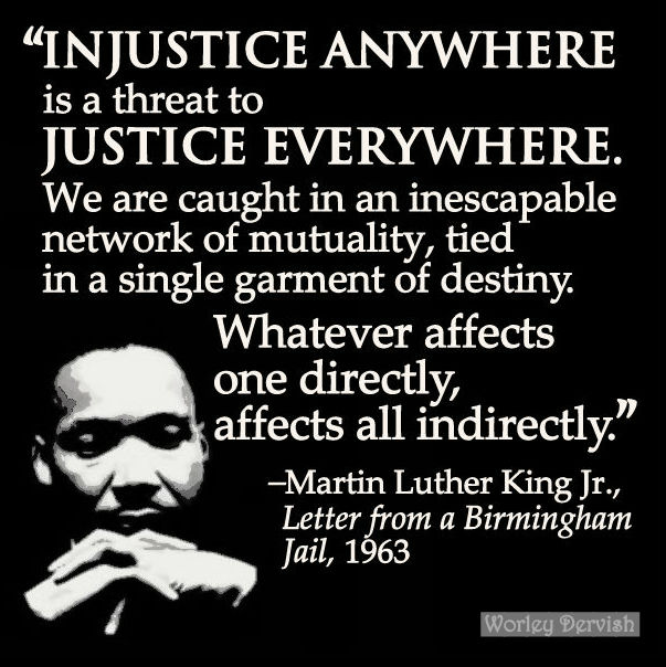 Letter From Birmingham Jail Quotes Martin Luther King  Letter From Birmingham Jail  Witsend