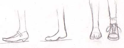 how to draw feet with shoes front view Google Search