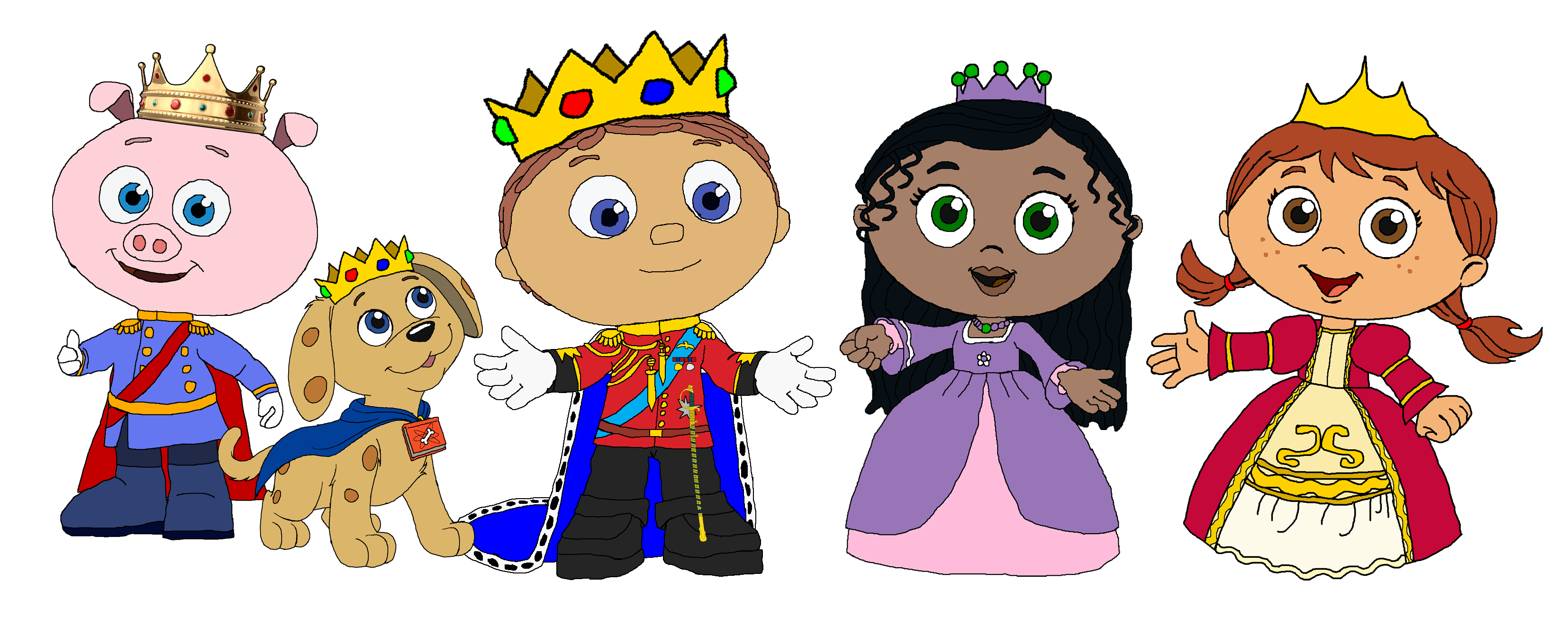 Super Why Fan Art Royal Super Readers Super Reader Super Why Super Why Birthday