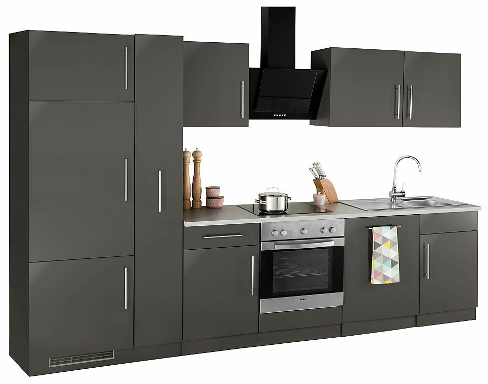 Küchenzeile »Cali« ohne E-Geräte, Breite 310 cm Jetzt bestellen - küchenblock ohne e geräte