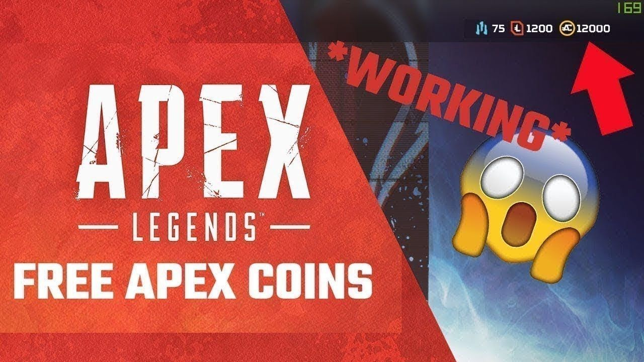 Get free apex coins new method 2020 in 2020 legend games
