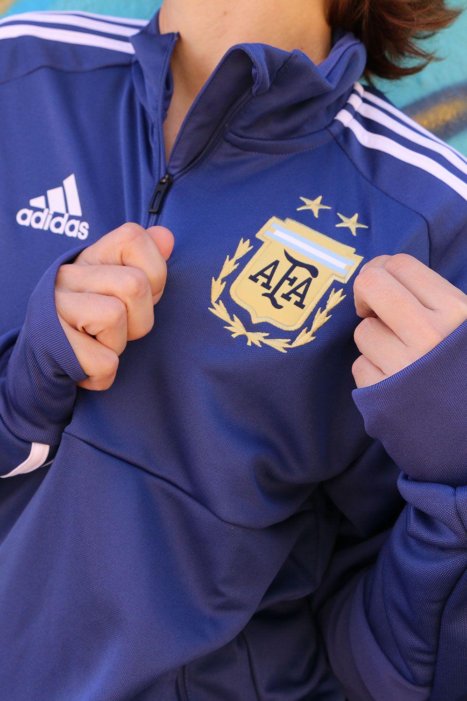 4acef22874ec6 Sudadera entrenamiento  adidas selección  Argentina 2018 - Azul Marino