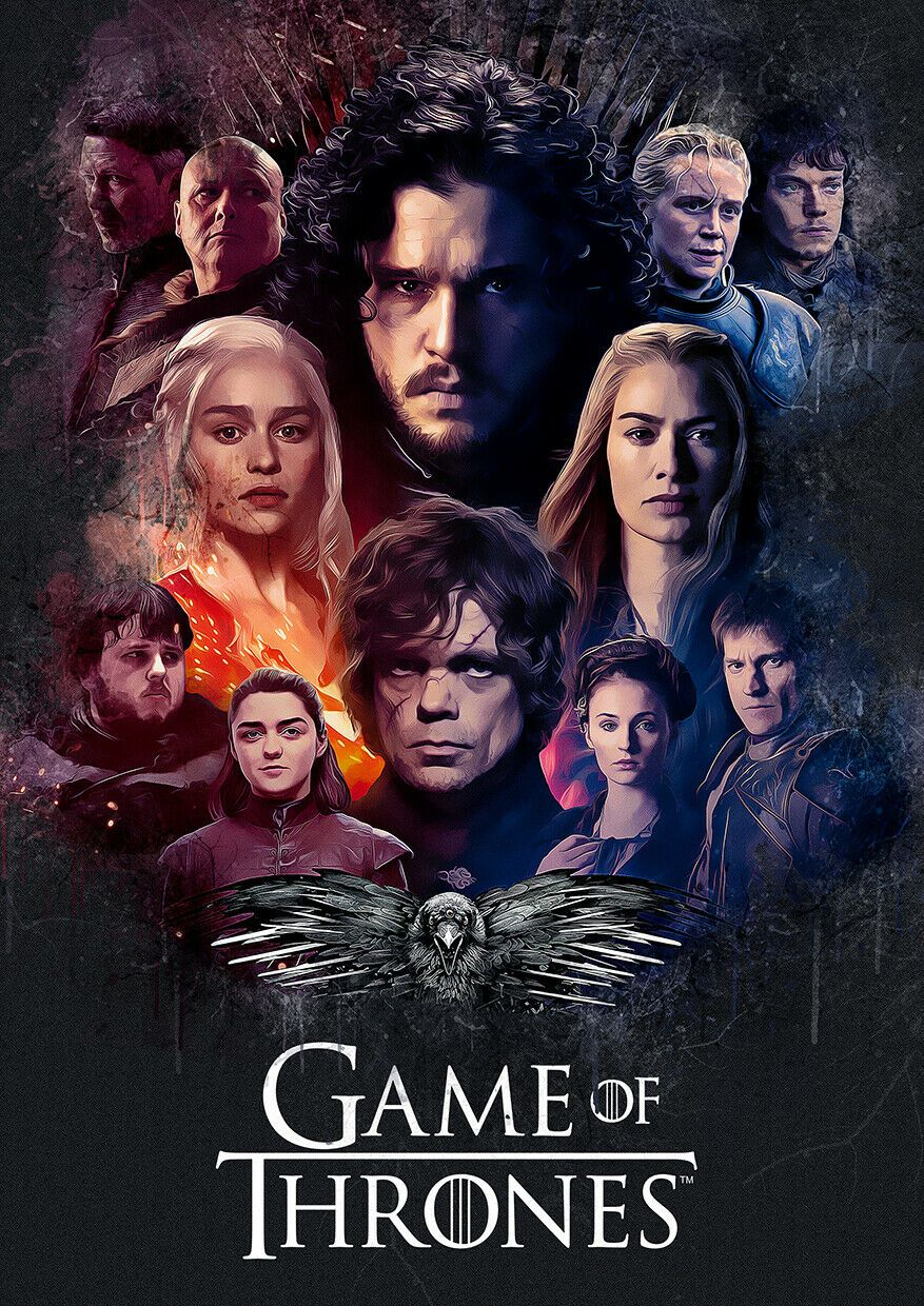 Unofficial  Game Of Thrones Poster Print Wall Art Home Decor Gift