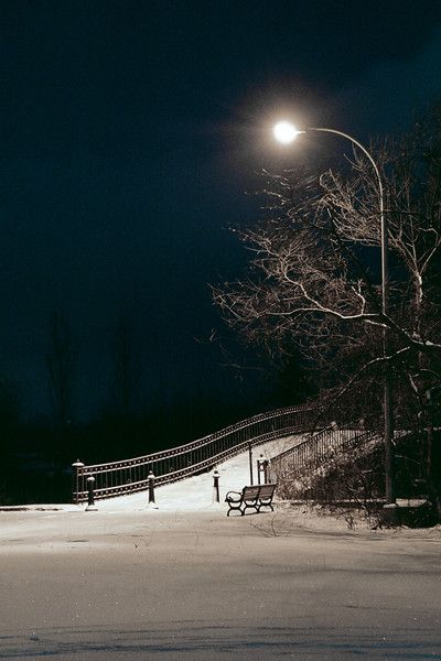 Night Time Snow Landscapes With Images Winter Landscape Photography Winter Landscape