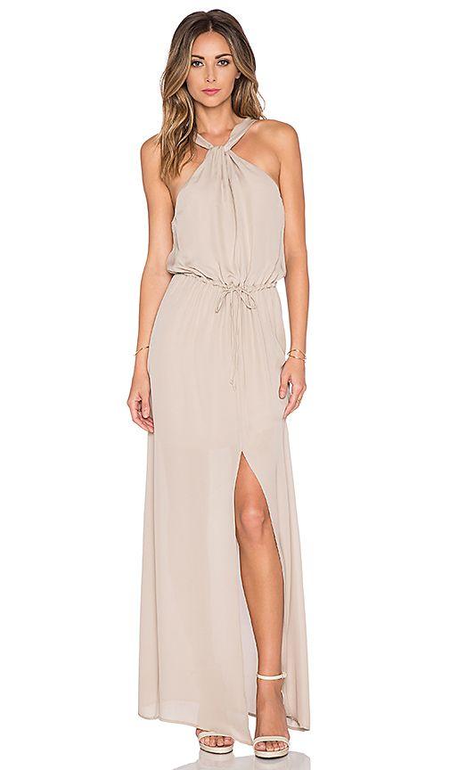 Neutral Maxi Dress