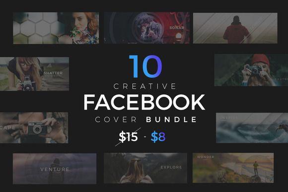 10 Facebook Timeline Cover Bundle  @creativework247