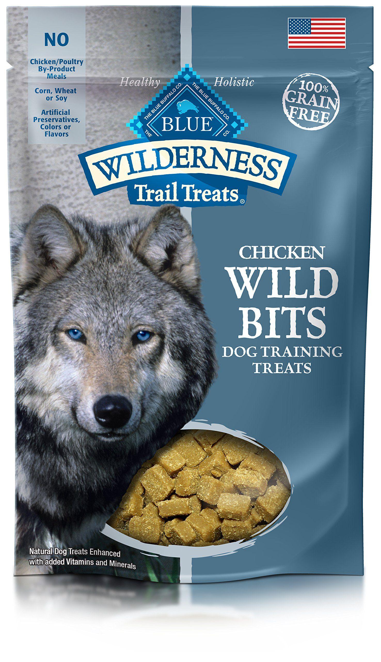 Blue wilderness trail treats grain free wild bits chicken