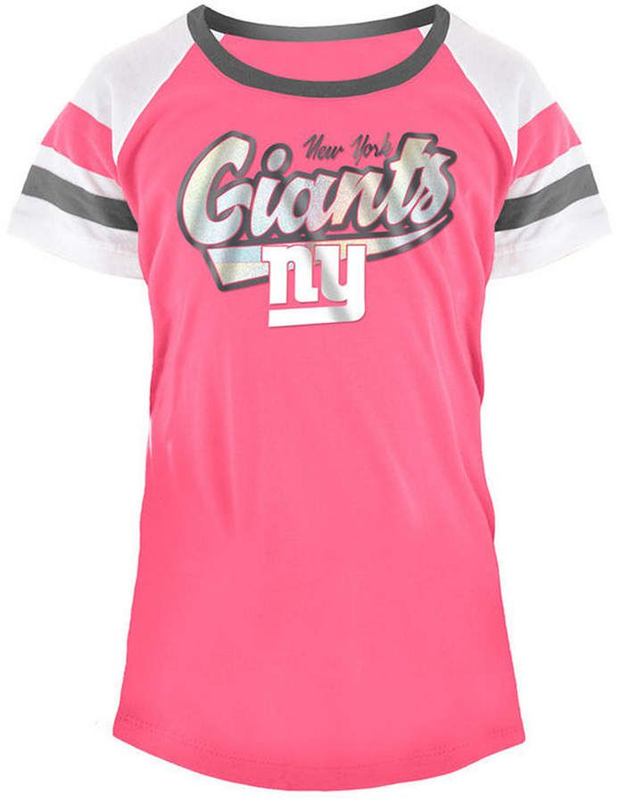 kids pink giants jersey