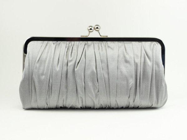 Baguette Clutch : Light Gray