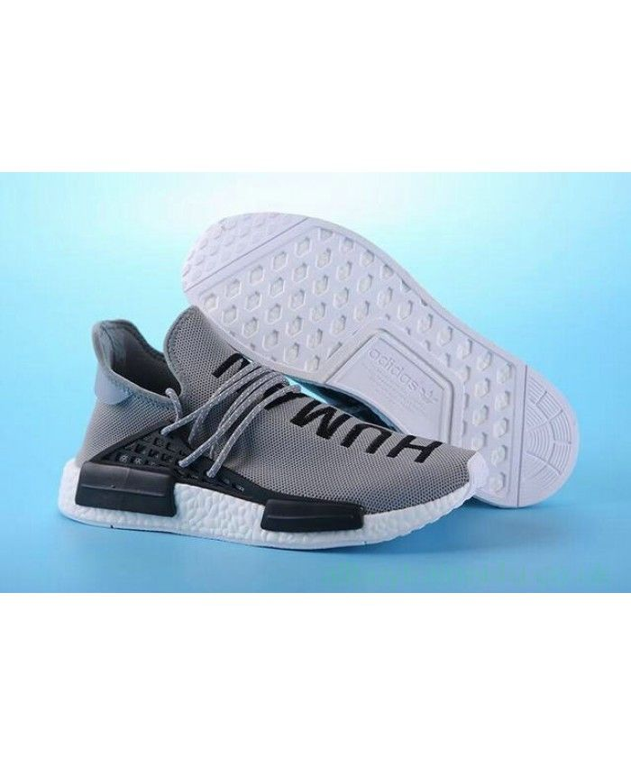 719cc54fbd169 Cheap Adidas Nmd Human Race Grey Black Sneakers Sale Uk