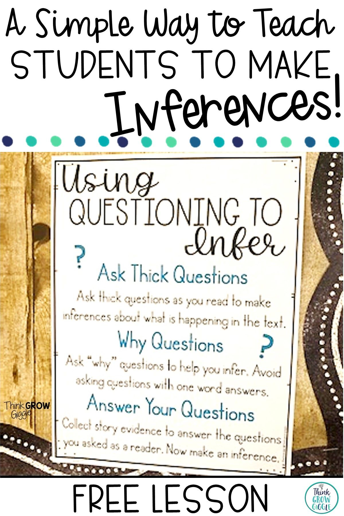 Making Inferences Activities Anchor Chart Lesson Idea Making Inferences Activities Inference Activities Inferring Lessons [ 1800 x 1200 Pixel ]