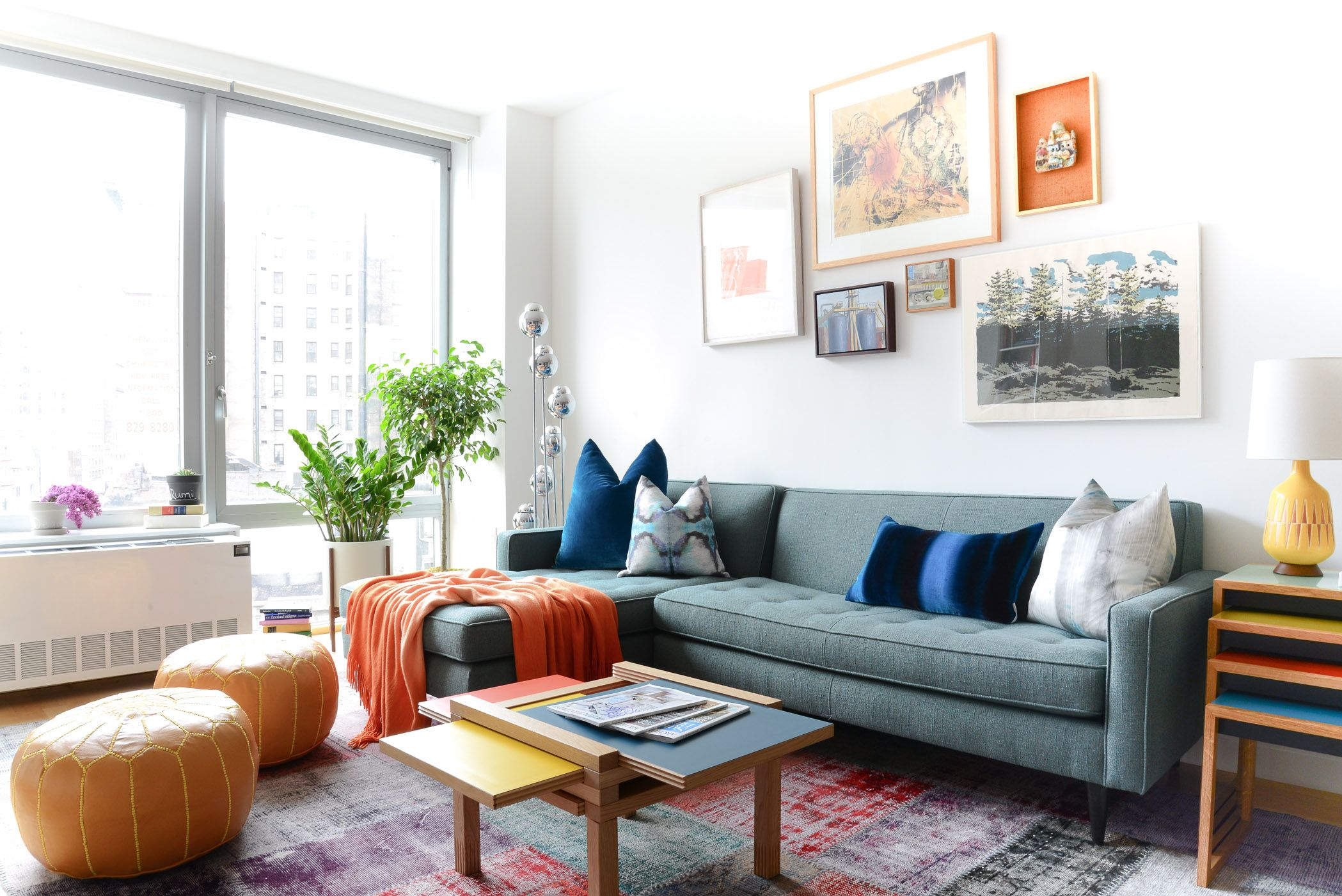 Getting Ready for Summer Entertaining | Best Poufs, Living spaces ...