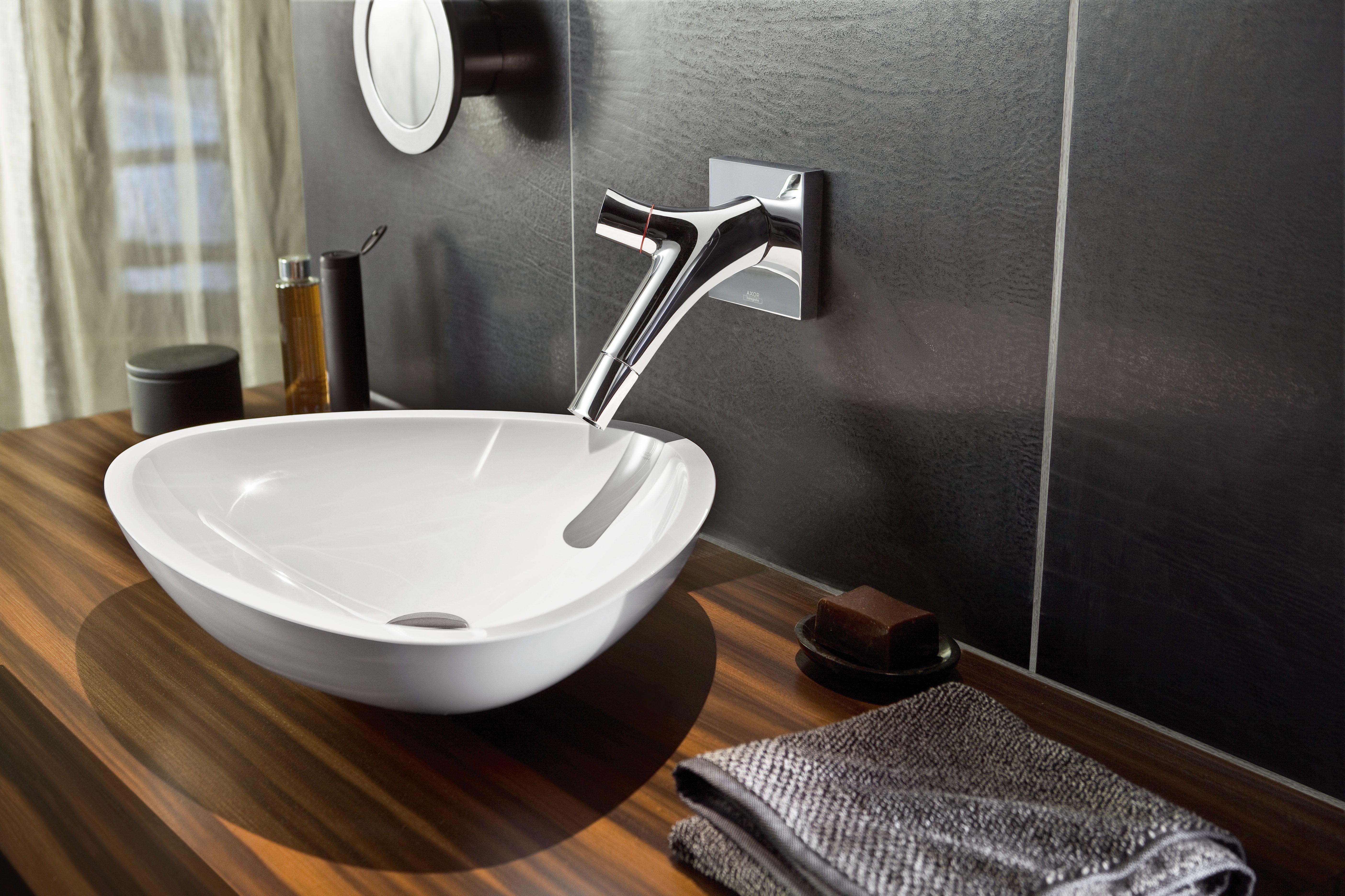 Axor Strack Organic 2-Handle Wall-Mounted Faucet | Sala de baño ...