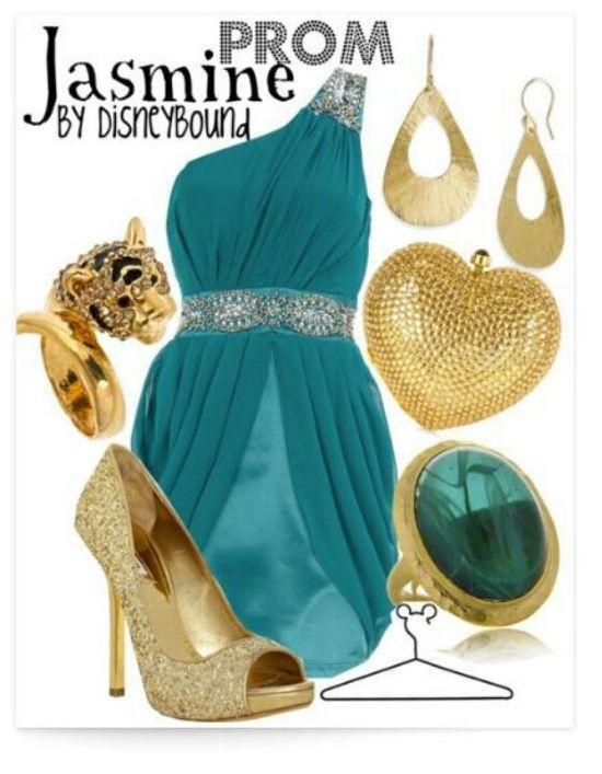 Jasmine outfit - by disneybound