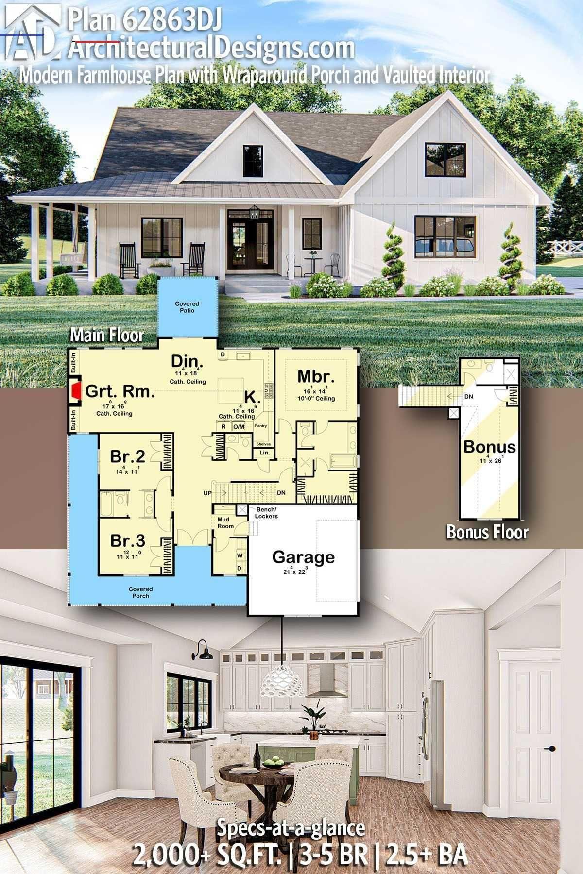 Smallmodernfarmhouseplans In 2020 Small Farmhouse Plans Modern Farmhouse Plans House Plans Farmhouse