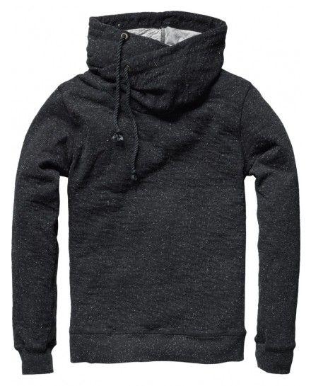 scotch shawl collar sweater