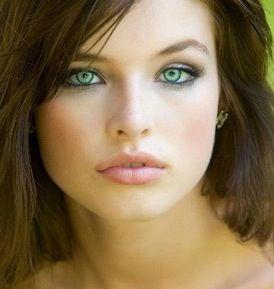 izzy west axelharper sloan  fair skin makeup