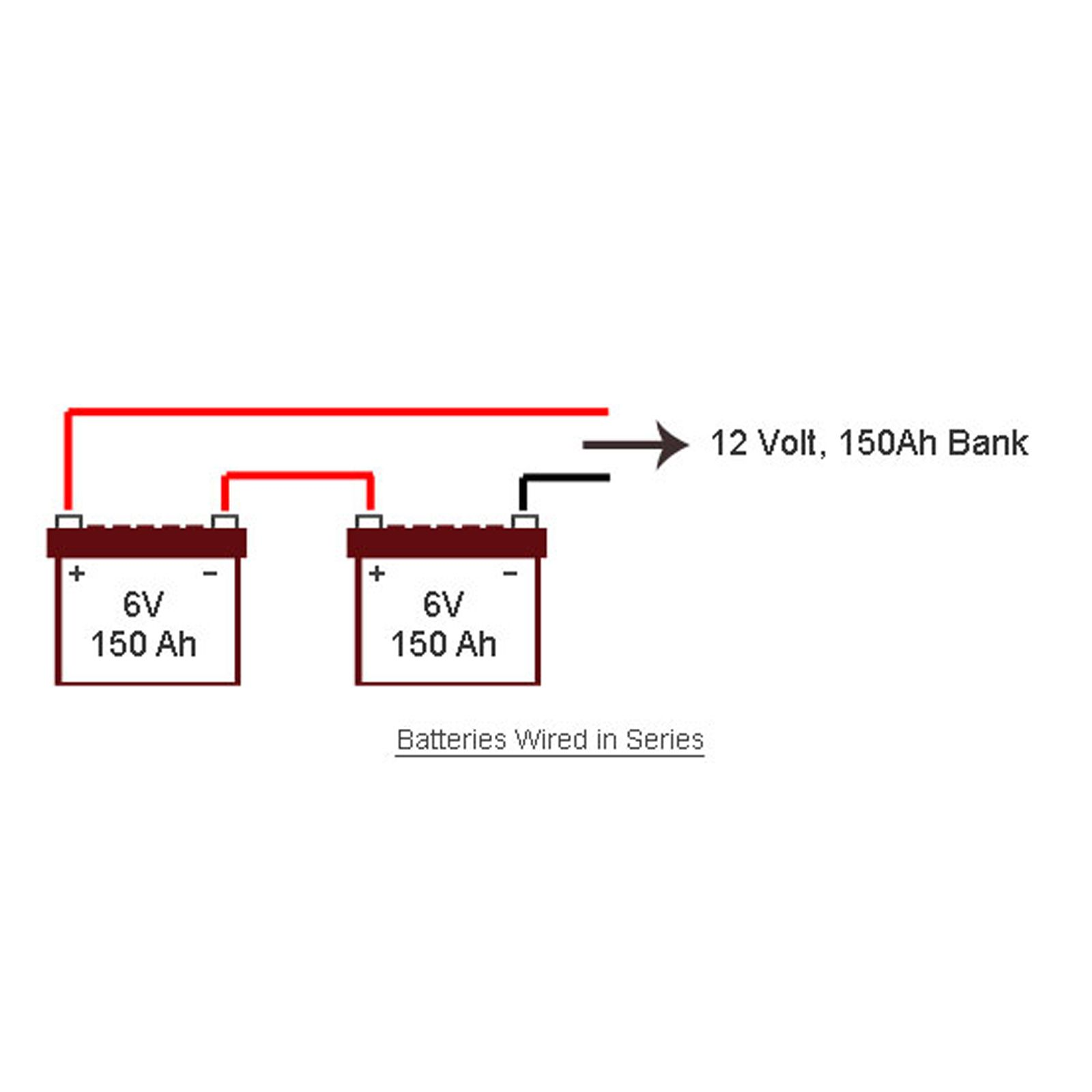 Awesome Series Parallel Battery Wiring Mdni Pinterest In Batteries