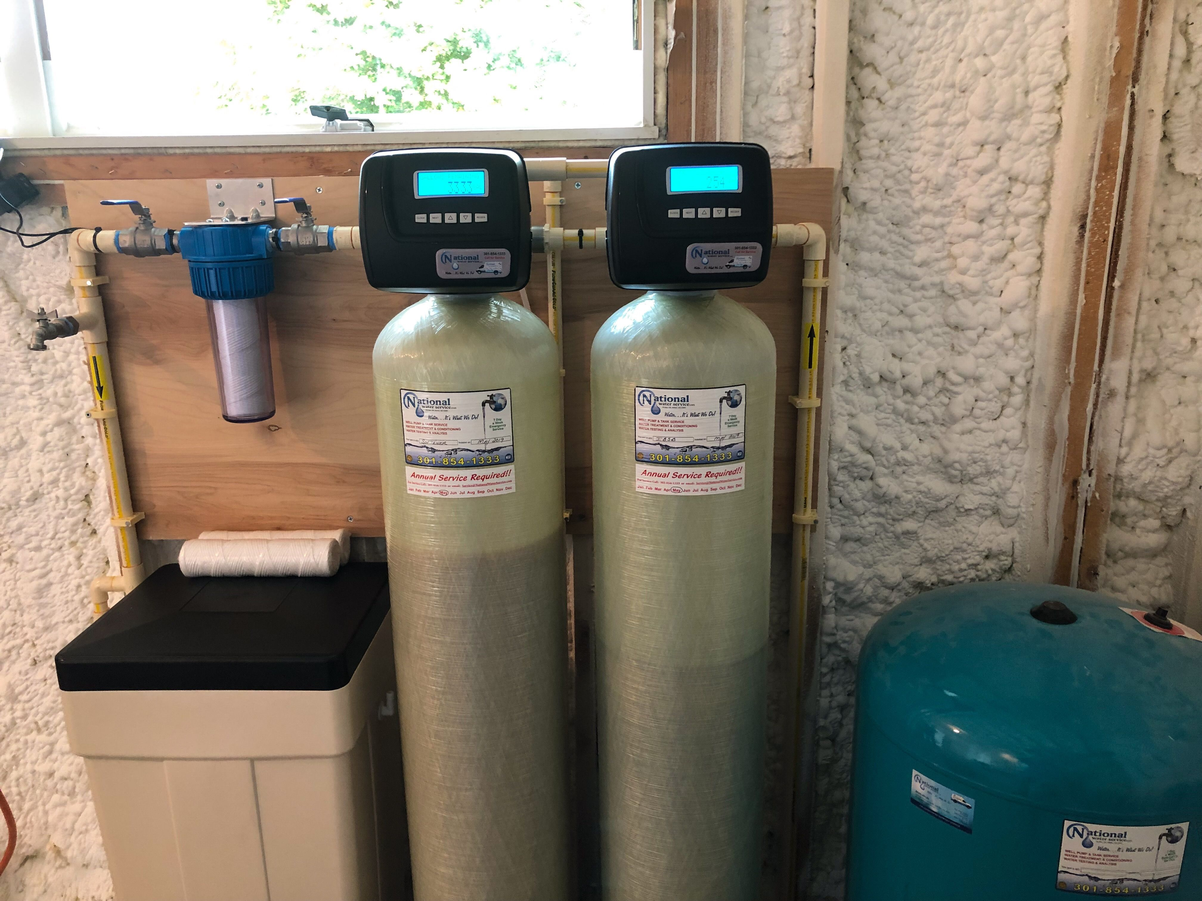 Home Water Treatment Water Softener Pressure Tanks