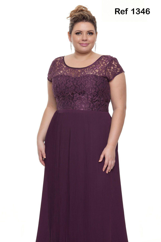 purple … | Tamanho Grande | Pinterest | Vestiditos, Tallas grandes y ...