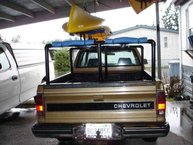 Diy Kayak Truck Rack Camping Pinterest Kayak Rack