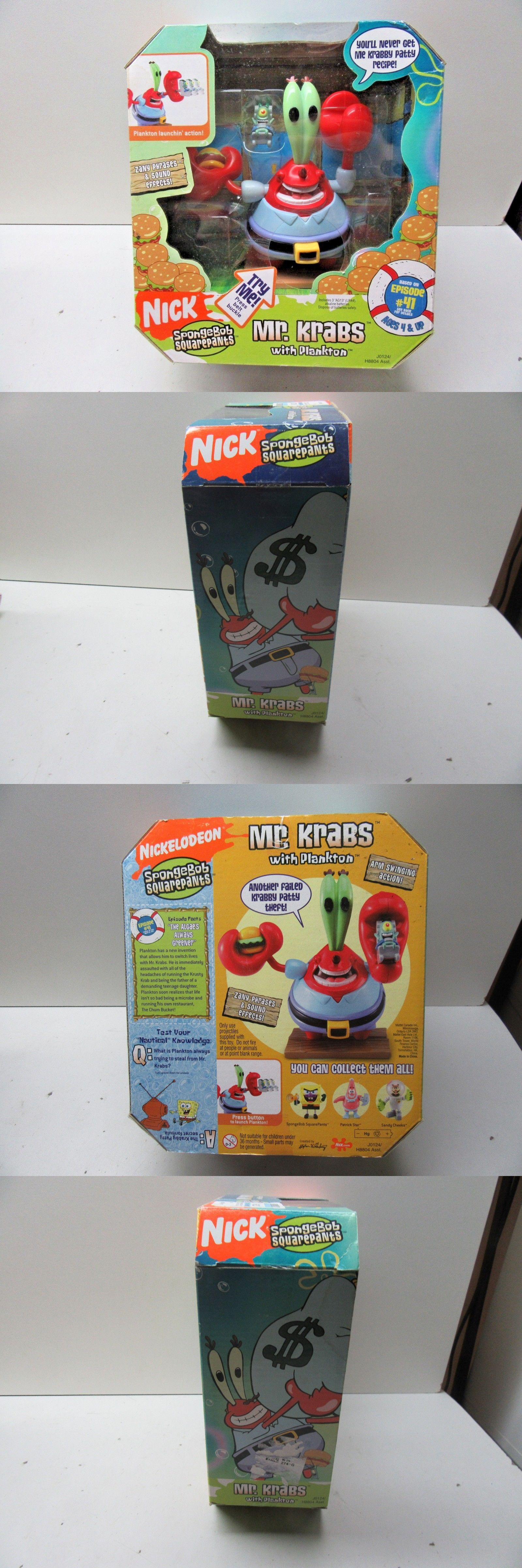 spongebob squarepants 20919 2005 mattel spongebob squarepants mr