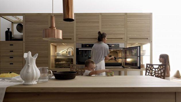 Unique Inlay Wooden Craftsman Kitchen By Valcucine 7 Jpg Belle
