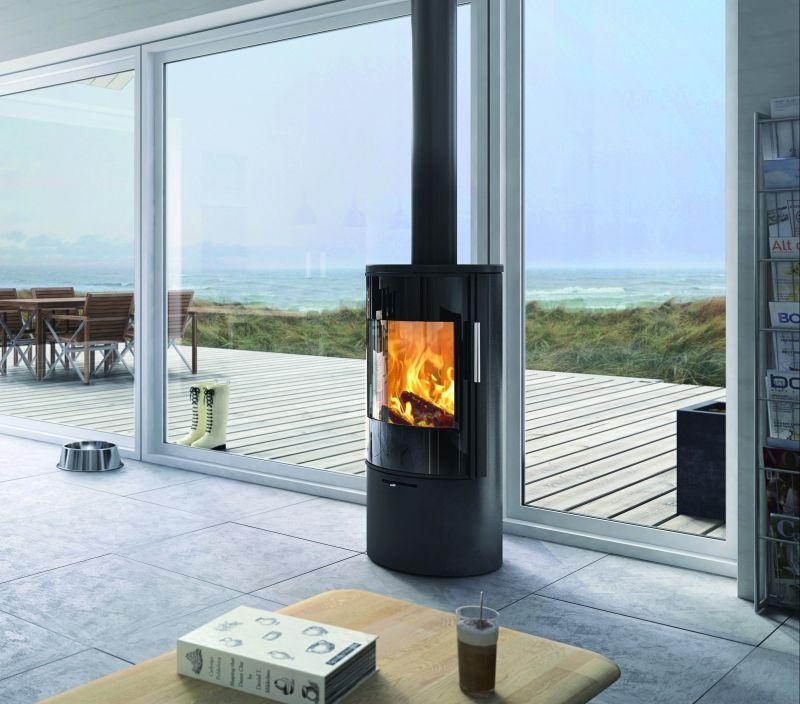 poêle à bois attika viva 98 | maison | pinterest | foyers