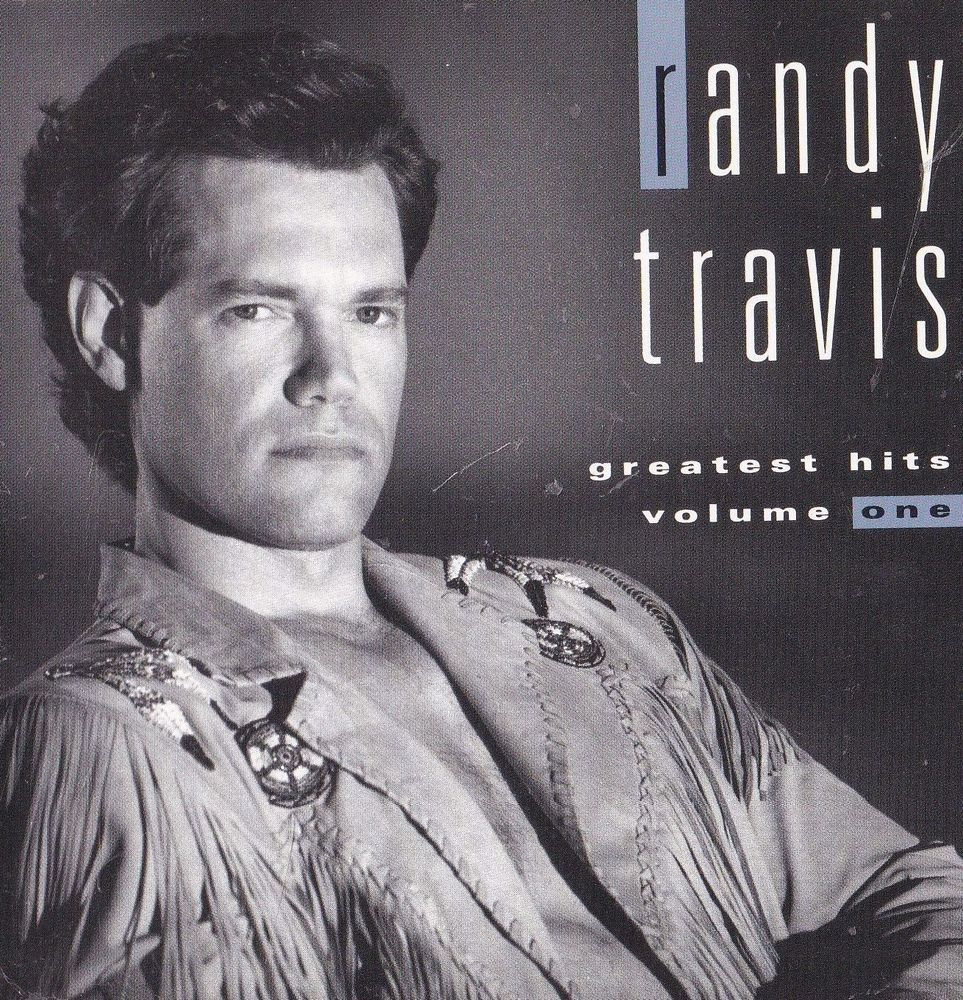 Randy Travis Band Sticker Album Cover Art Country Music Decal Man