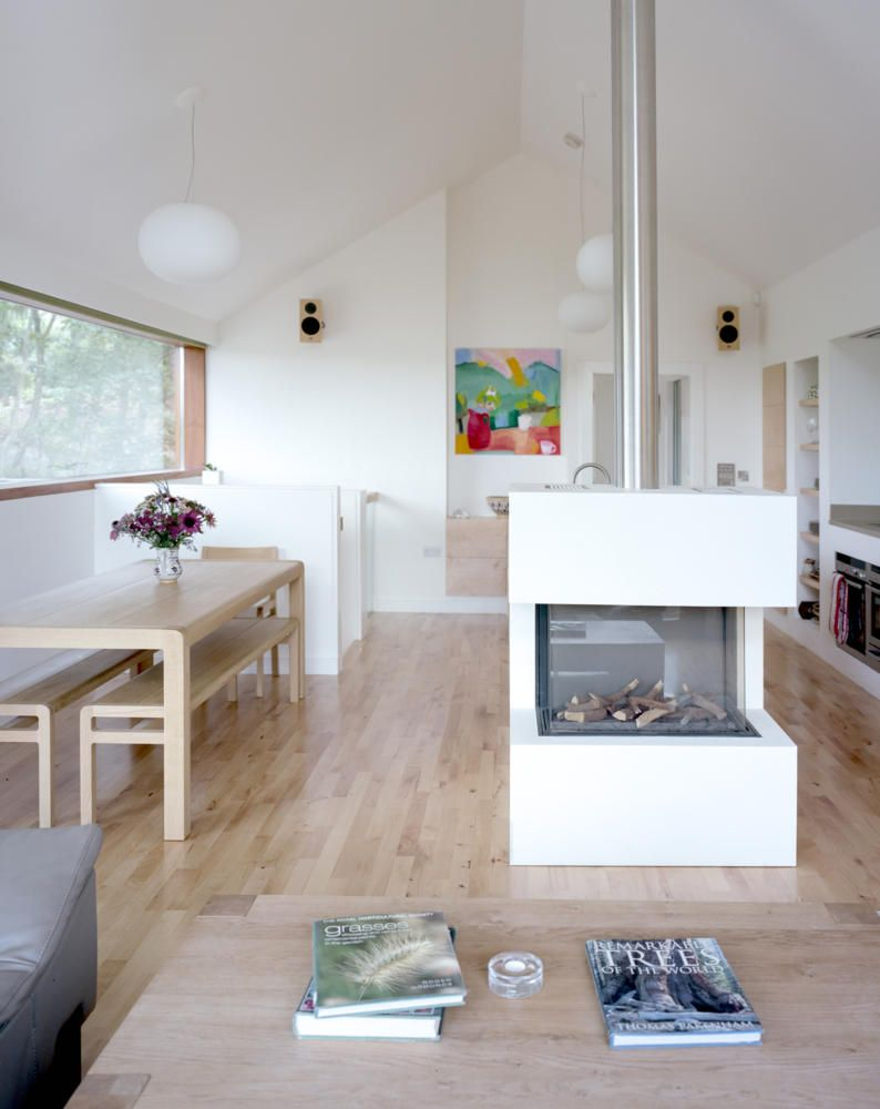 tolle kamin freistehend fireplace pinterest sanierung altbauten und moderne h user. Black Bedroom Furniture Sets. Home Design Ideas