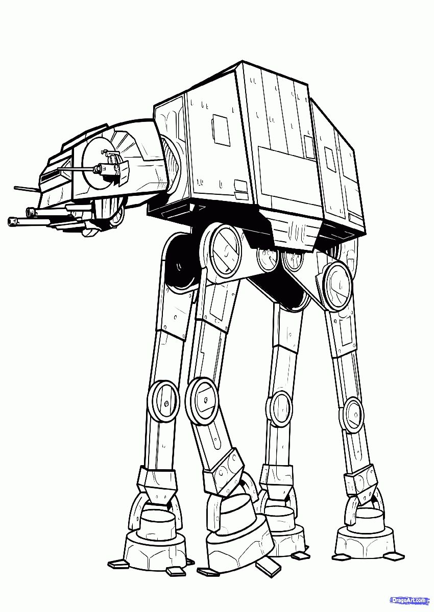 star wars coloring pages - Star Wars Coloring Pages