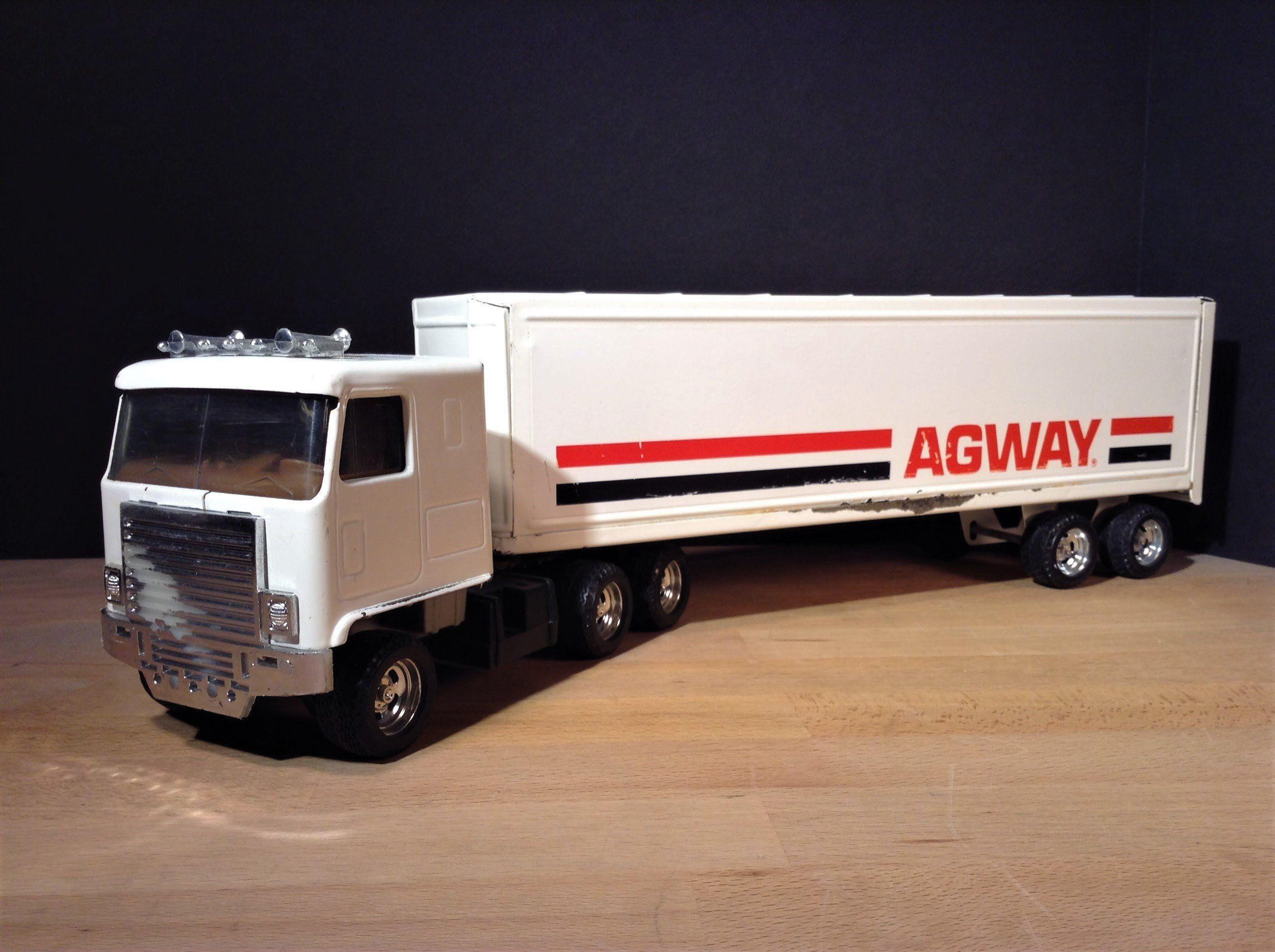 Ertl Truck Ertl Agway Tractor Trailer Vintage Ertl Toy Truck