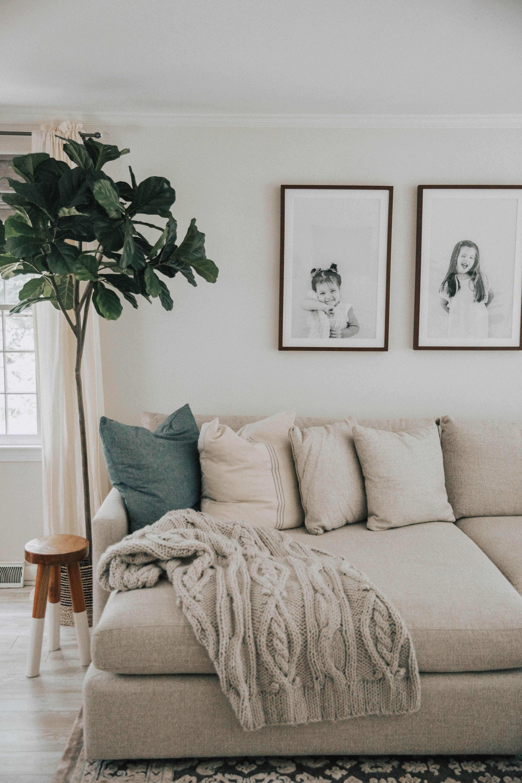 Photo of Living Room Progress – Lynzy & Co.