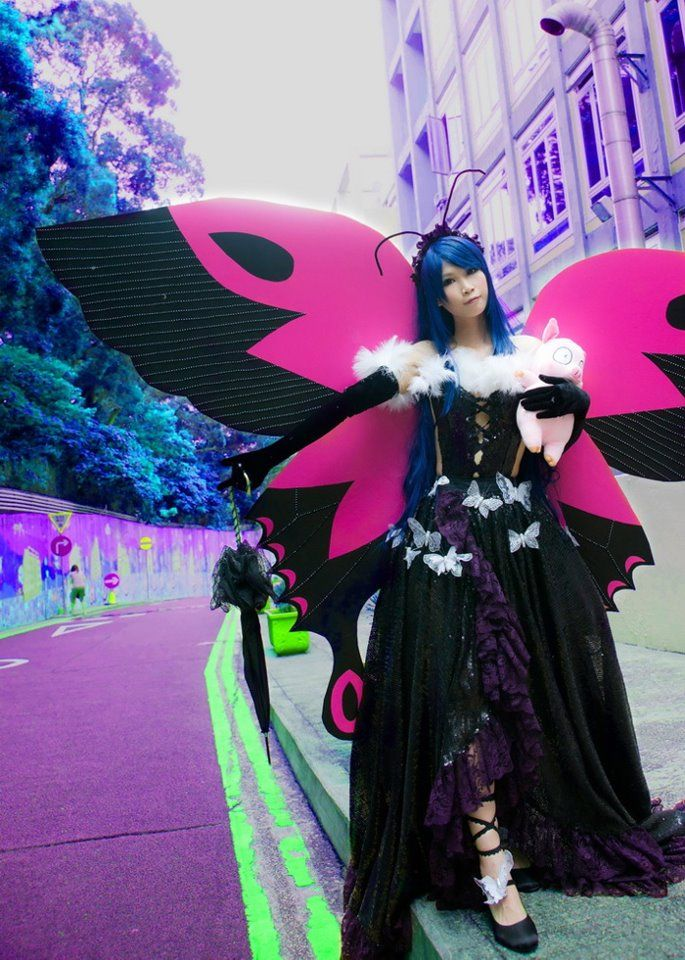 Accel World - Snow Black Butterfly Credits to: Kanako
