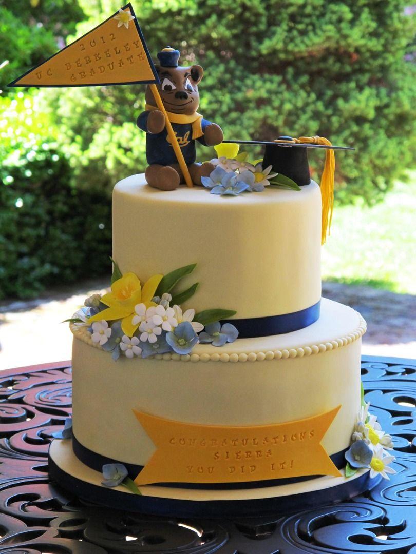 Cal Berkeley Graduation Cake by Let's Do Cake! | Graduation ...