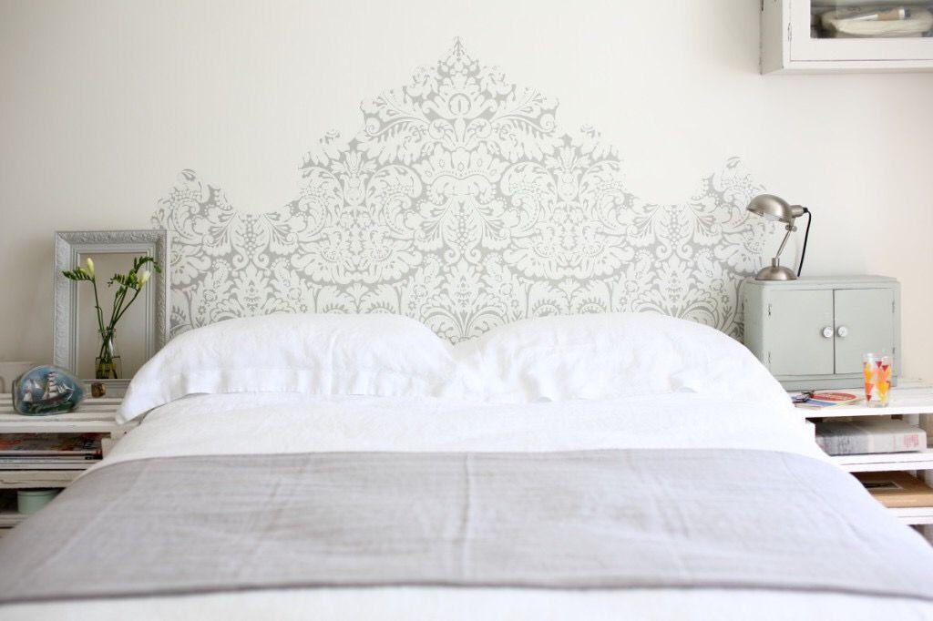 Using Wallpaper As A Headboard Farrow And Ball Wallpaper