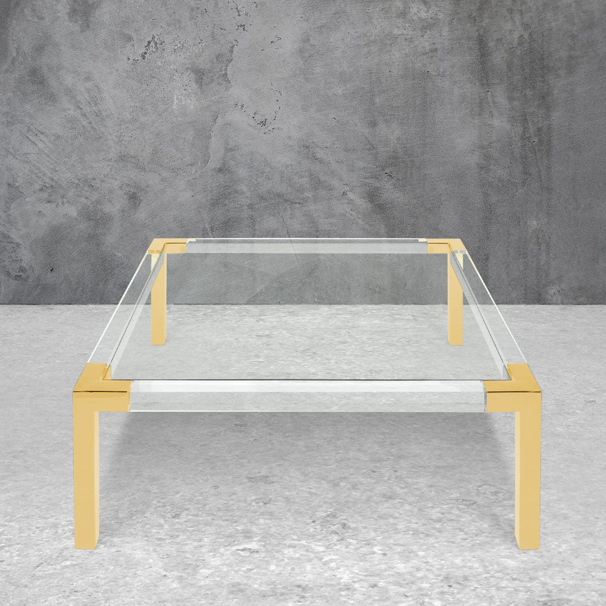 Trousdale 3 Square Coffee Table Coffee Table Square Coffee Table Brass Coffee Table Square [ 1200 x 1200 Pixel ]