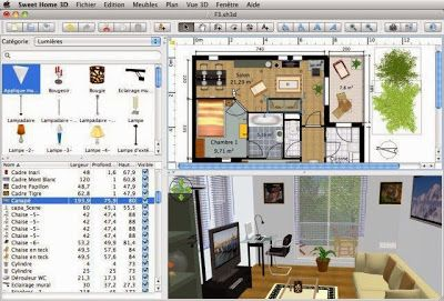 download sweet home 3d v4.2 untuk desain interior gratis, Innenarchitektur ideen