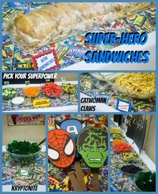 Super Hero Surprise 30th Birthday