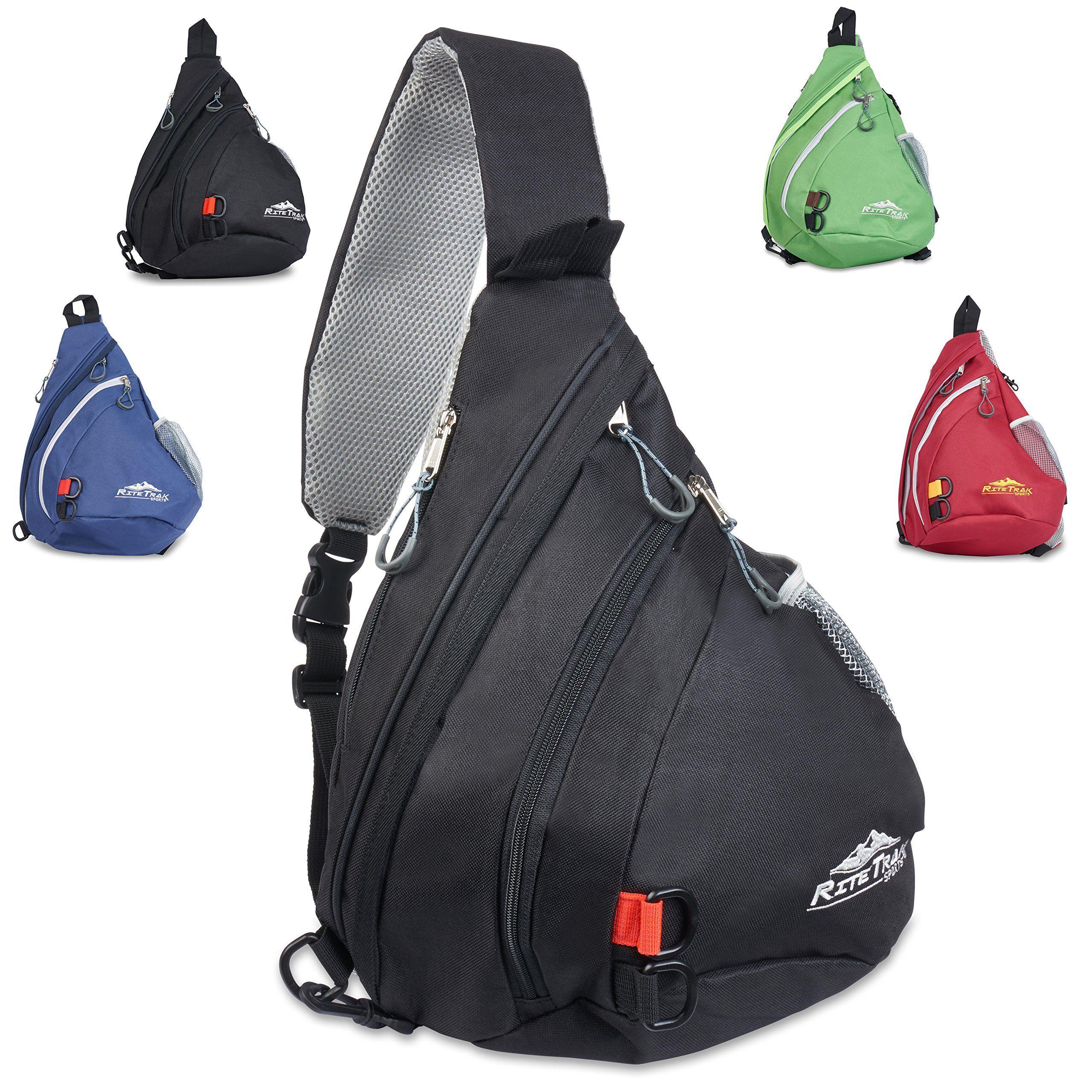 one shoulder backpack - Black Versus Trx7IhE0